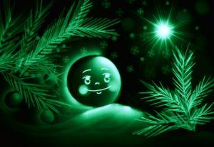 Шоу световых картин Колобок и Рождество