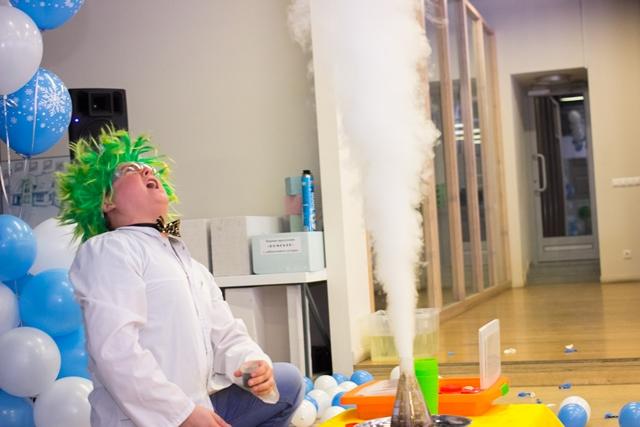 Шоу химические опыты