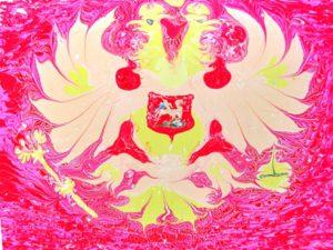 Эбру-шоу День России