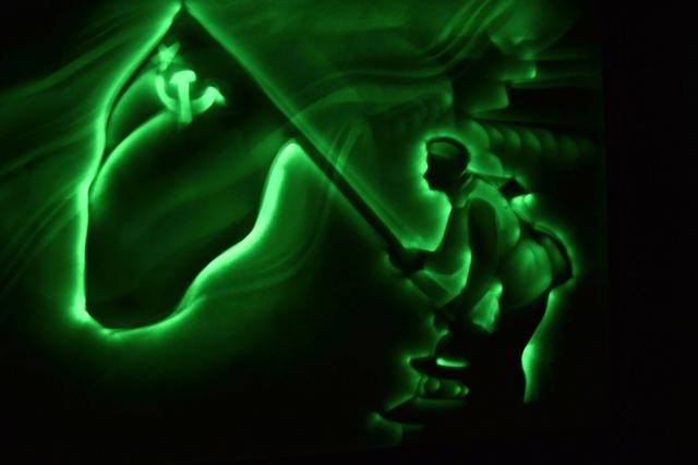 Шоу световых картин Парад Победы