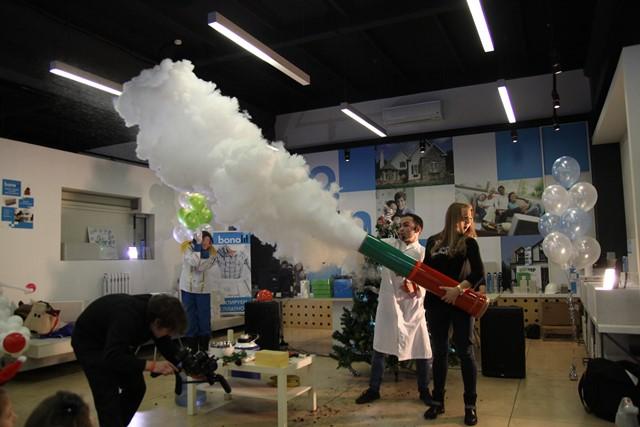 Научное крио шоу в Москве